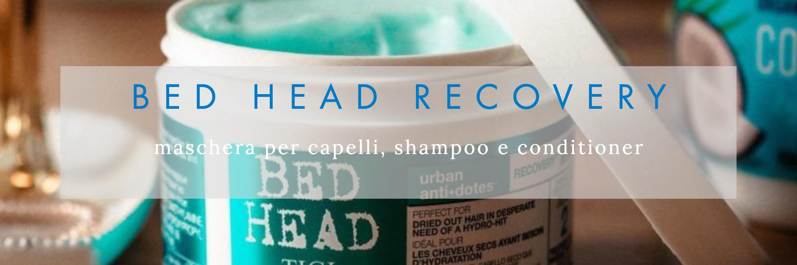 maschera capelli estate bed head