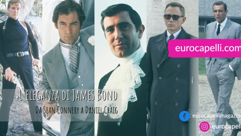 L'eleganza di James Bond. Da Sean Connery a Daniel Craig