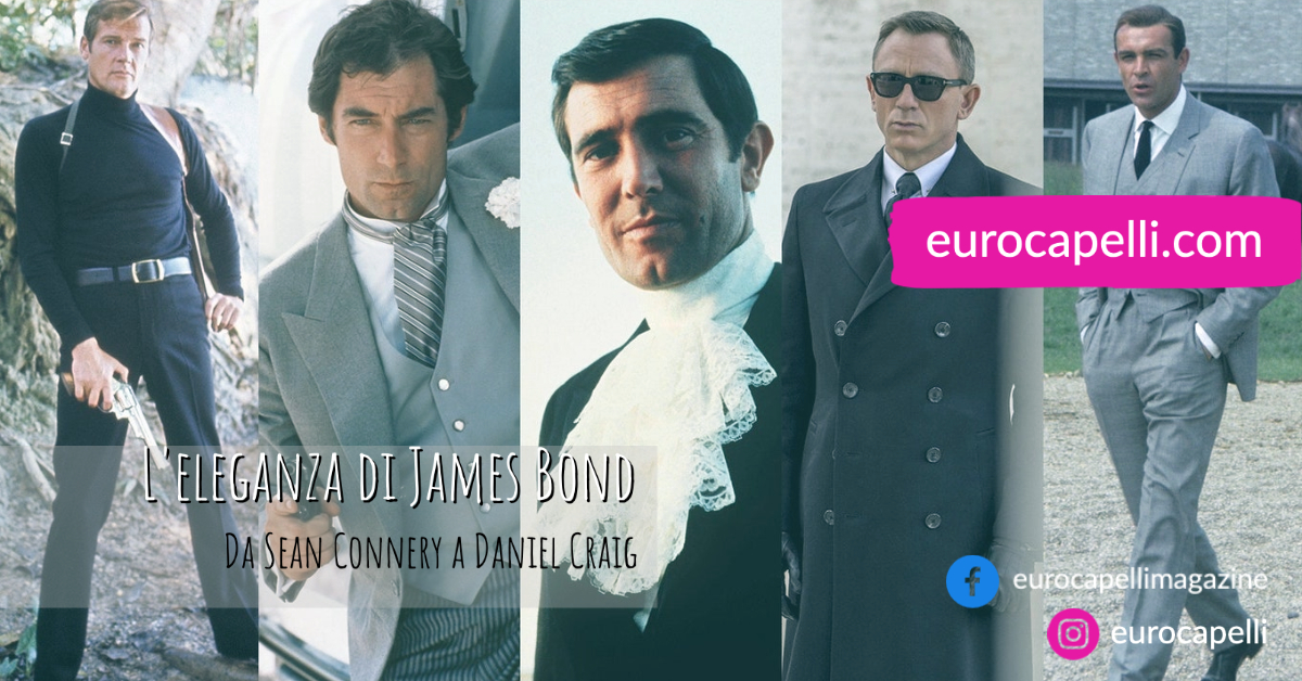 L'eleganza di James Bond. Da Sean Connery a Daniel Craig